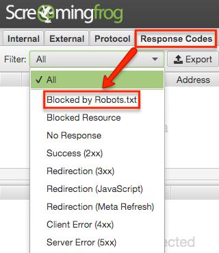 Robots blocked file Javascript